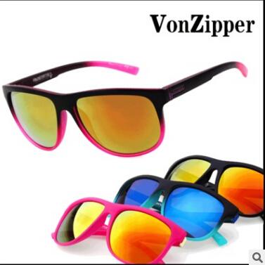VZ Sunglasses Von zipper men women Outdoor Sports Sun Glasses Oculos De Sol Gafas oak lunette de soleil homme 2016 Retro Brand(China (Mainland))