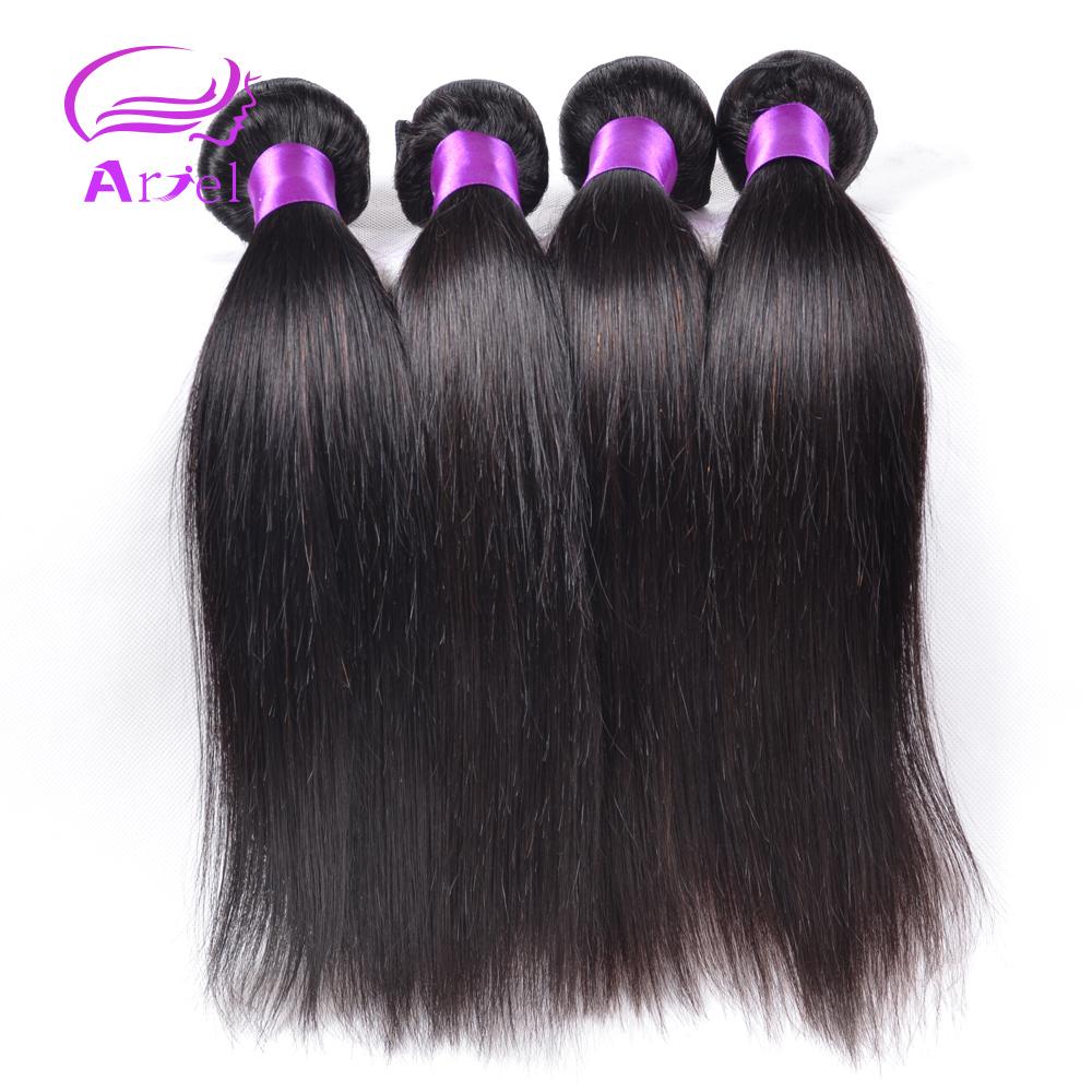 Pervian Virgin Hair Straight 4pcs/Lot Virgin Hair Straight 7A Unprocessed Virgin Peruvian Hair Cheap Straight Human Hair Bundles