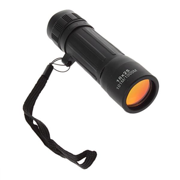 Гаджет  1pcs Telescope 10x25 Scope Hiking Hunting  Protable Monocular  Hunting Camping Sports wholesale Dropshipping None Инструменты