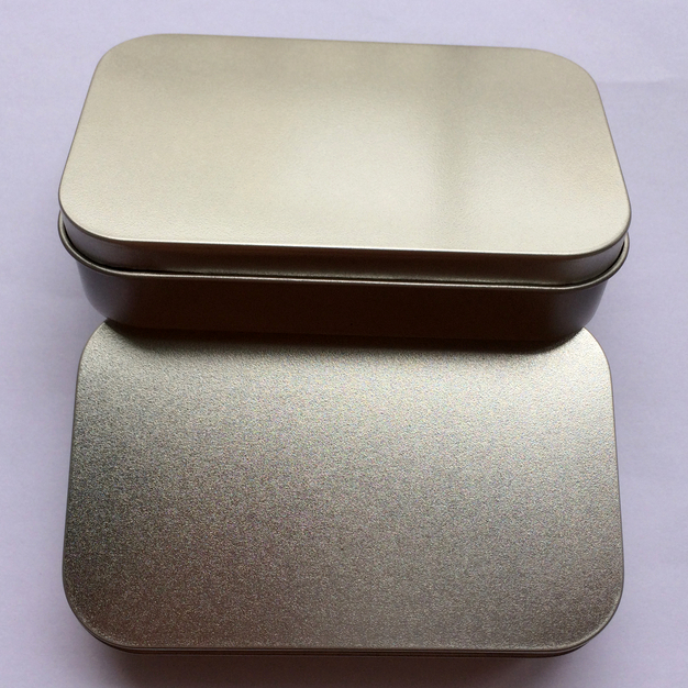 20pcs 9.4x5.9x2.1cm silver mini rectangle tin box,muji plain metal storage case bin can without printing candy tea tins boxes(China (Mainland))