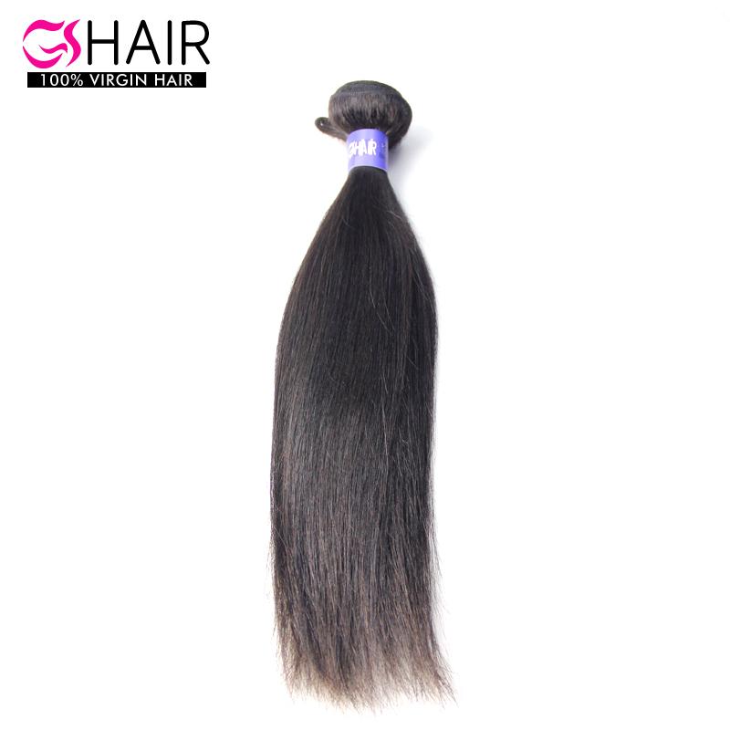 1 bundle Indian virgin hair weaving straight texture 8 10 12 14 16 18 20 22 24 26 28 30 32 34 inch natural black human hair(China (Mainland))
