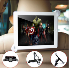 7-11 inch Universal Tablet PC Car Back Seat Holder 360 Degree Rotating Angle Adjustable Bracket Support For iPad For Samsung