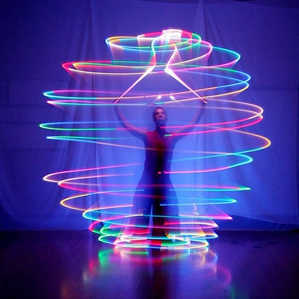 2016 Hot selling High quality belly dance accessories women led poi thrown balls for accessories hand belly dance props on sale(China (Mainland))