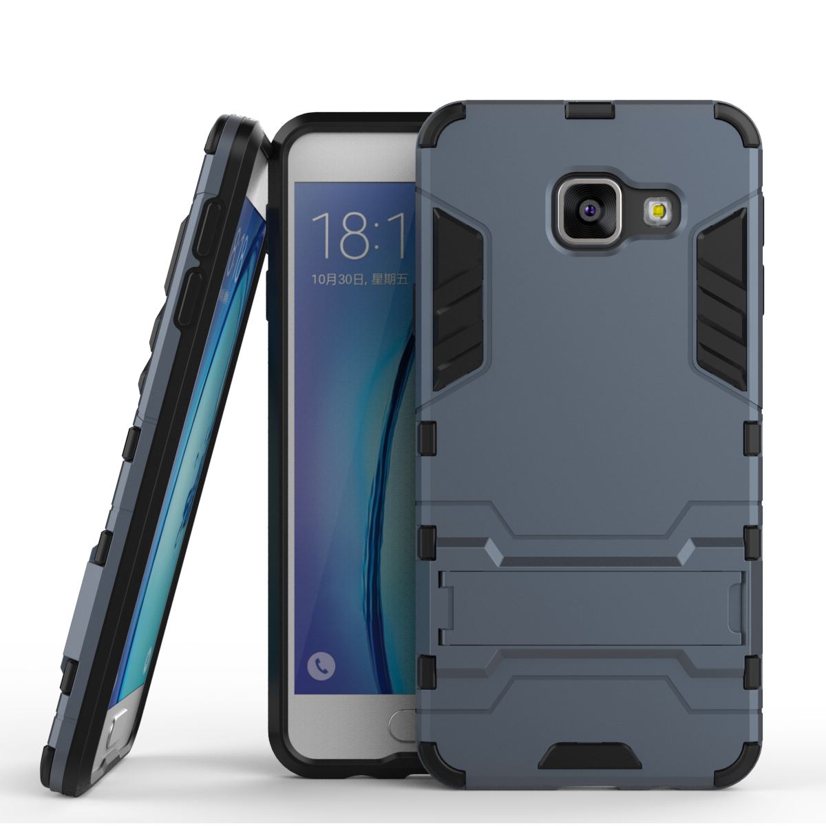 For Samsung Galaxy A3 2016 Case A310 A310F Slim Hard Back Phone Case Robot Armor Hybrid Rugged TPU Cover For Samsung A3 2016 (<(China (Mainland))
