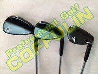 2014 SM5 Golf Wedges With Steel Shafts Golf Clubs 52/54/56/58/60degree Silver/Black/Champagne EMS/DHL ship