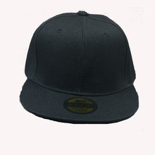 062920 Amazing Casual Men Women Black Snapback Hats Unisex Hip Hop Adjustable font b Baseball b