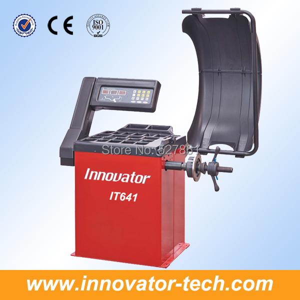 Digital car repair machine for balancing wheel CE approve model IT641(China (Mainland))