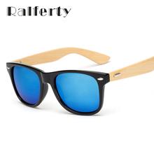 Ralferty 2016 Retro Bamboo Wood Sunglasses Men Women Brand Designer Sport Goggles Gold Mirror Sun Glasses Shades lunette oculo(China (Mainland))