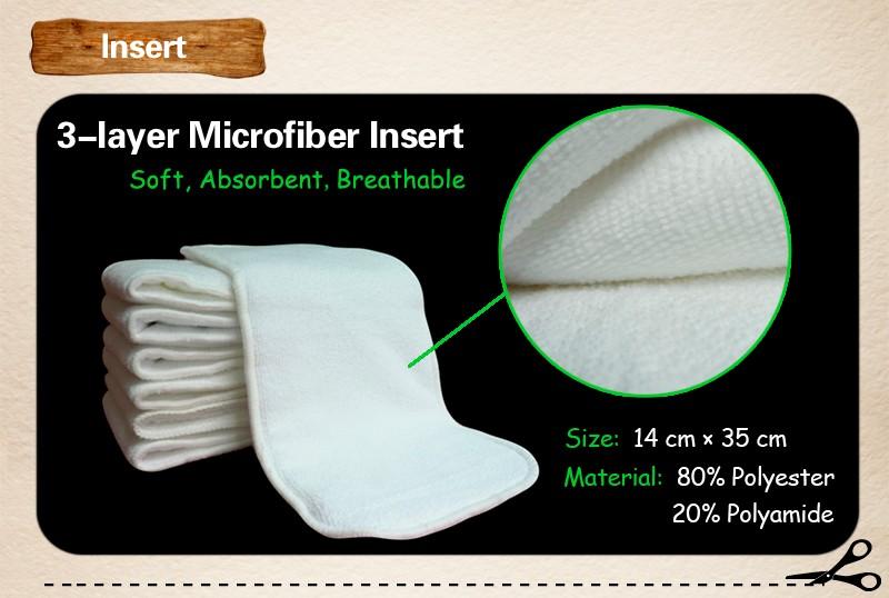 microfiber insert