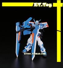 Free shipping action figures robot anime assembled Gundam MC HG 1:144 bandai Blue heresy luminous stickers original box gundam