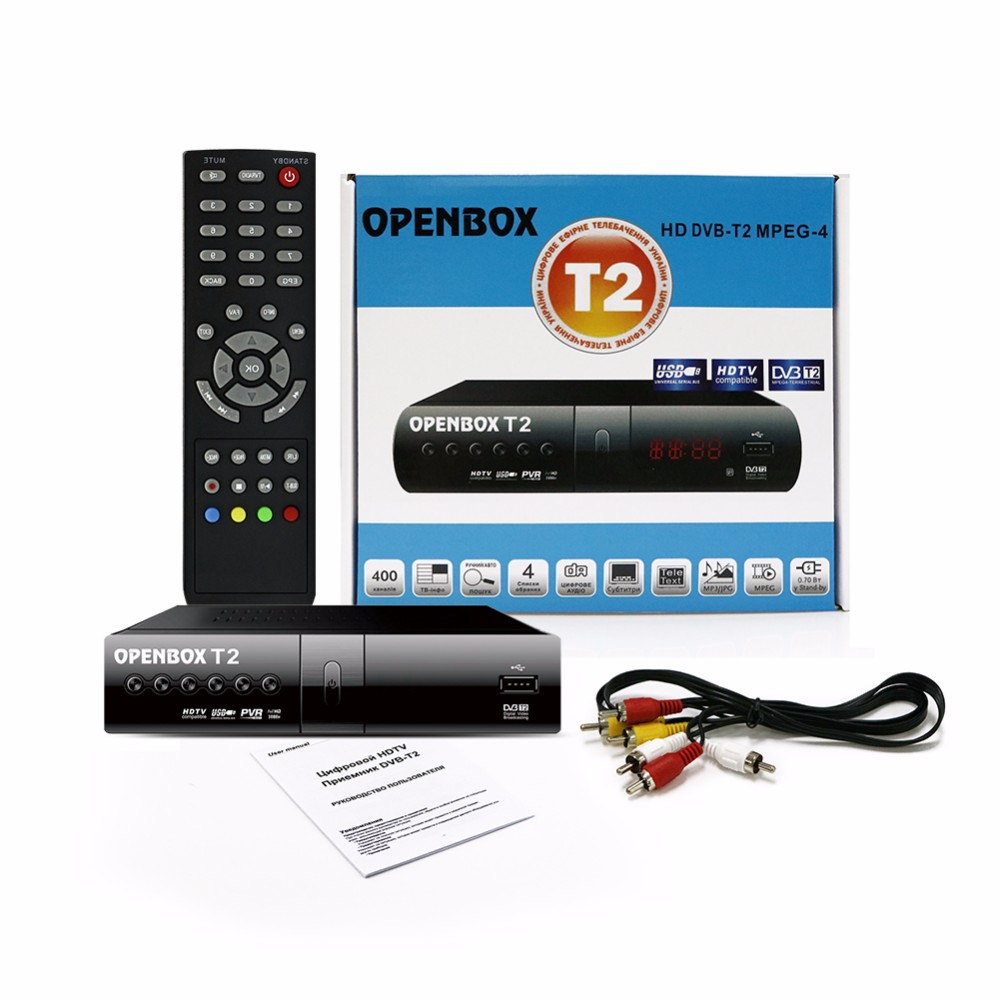 OPENBOX DVB T2 HD MPEG-4 USB DVB-T Smart TV BOX Digital Smart TV Receiver LED Display Set Top Set-top box media player(China (Mainland))