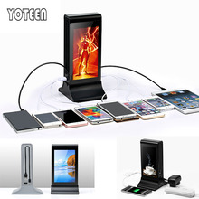 YOTEEN 20800mah 4 USB LCD 18650 Power Bank Portable Backup Battery Charger Powerbank External Battery for iPhone Xiaomi Tablet