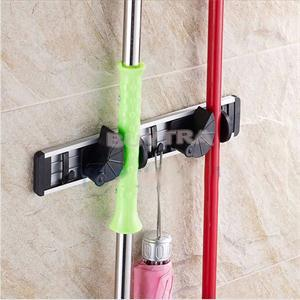 New Cleaning Tool Holder Hanger Mordern Broom Holders Bathroom Accessories(China (Mainland))