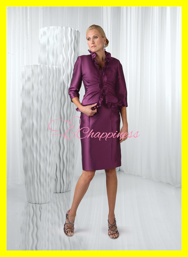 Top designer mother of the bride dresses grooms petite for Petite wedding dress designers