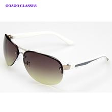 Men's original single metal sunglasses tide frog mirror driving oculos de sol masculinogafas de soloversized 1272