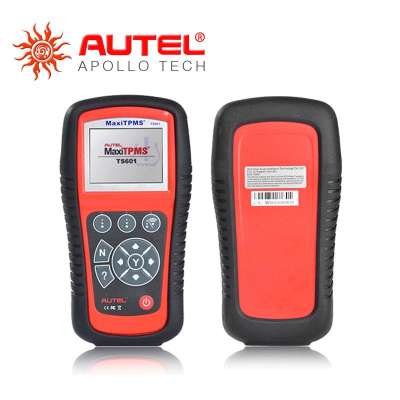 2016 100% Original AUTEL MaxiTPMS TS601 With OBD2 Adapters TPMS Diagnostic & Service Tool Update Via Internet DHL Free(China (Mainland))