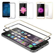 Full Coverage Tempered Glass Screen Protector Film For Apple iPhone 6 6s Plus