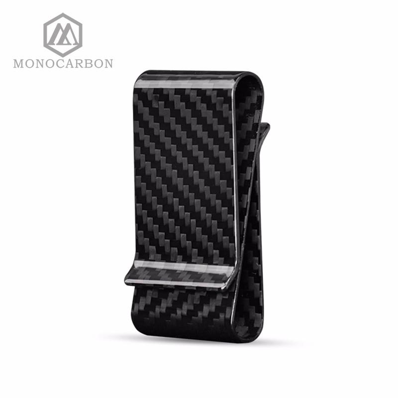 double side carbon fiber money clip (4)
