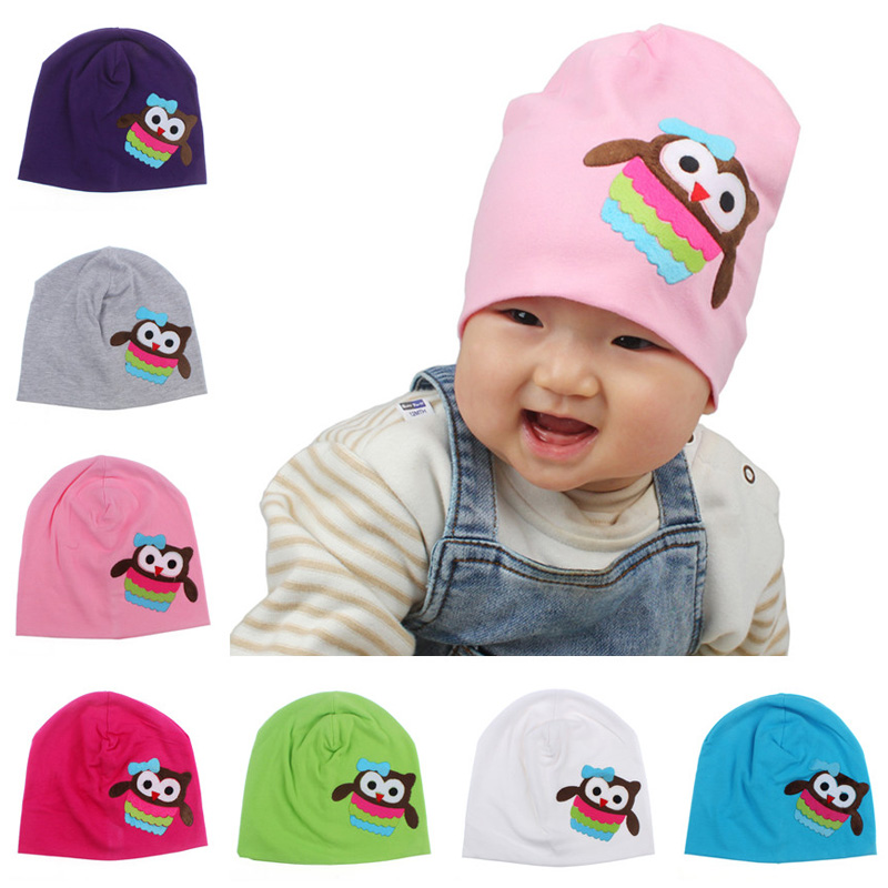 Infant Toddler Pattern Autumn&Winter Knitted Cap New Hot Sale Boy Girl Aniaml Design Baby Hat Cotton Beanie Cap SW115-M(China (Mainland))