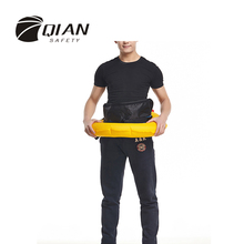 QIAN SAFETY Professional Unisex Automatic 150N Inflatable Life Jacket Waist Style Life Vest With Whistle High Quality(China (Mainland))