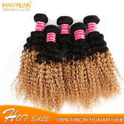 Mongolian ombre  kinky curly virgin hair bundle deals mongolian kinky curly hair,cheap mongolian afro kinky curly virgin hair