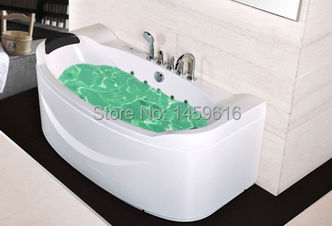 **  Sea freight whirlpool bathtub and acrylic +ABS composite board massage tub W4004   **<br><br>Aliexpress