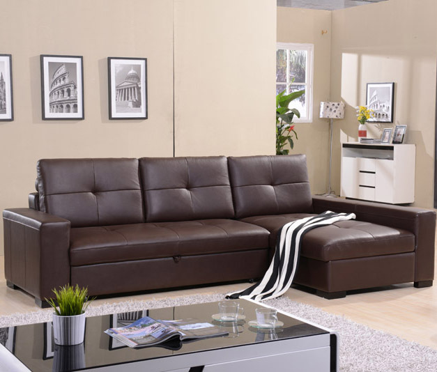 Corner Sofa Bed Contemporary: Leather Sofa Leather Living Room Corner Leather