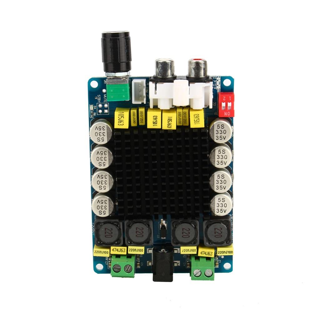 TDA7498 Class D 2X100W Dual Channel Audio Stereo 80W + 80W Digital Amplifier Board Module