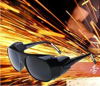 Laser safety goggles welding safety goggles Anti-shock Wind mirror ear protection for Electric welding