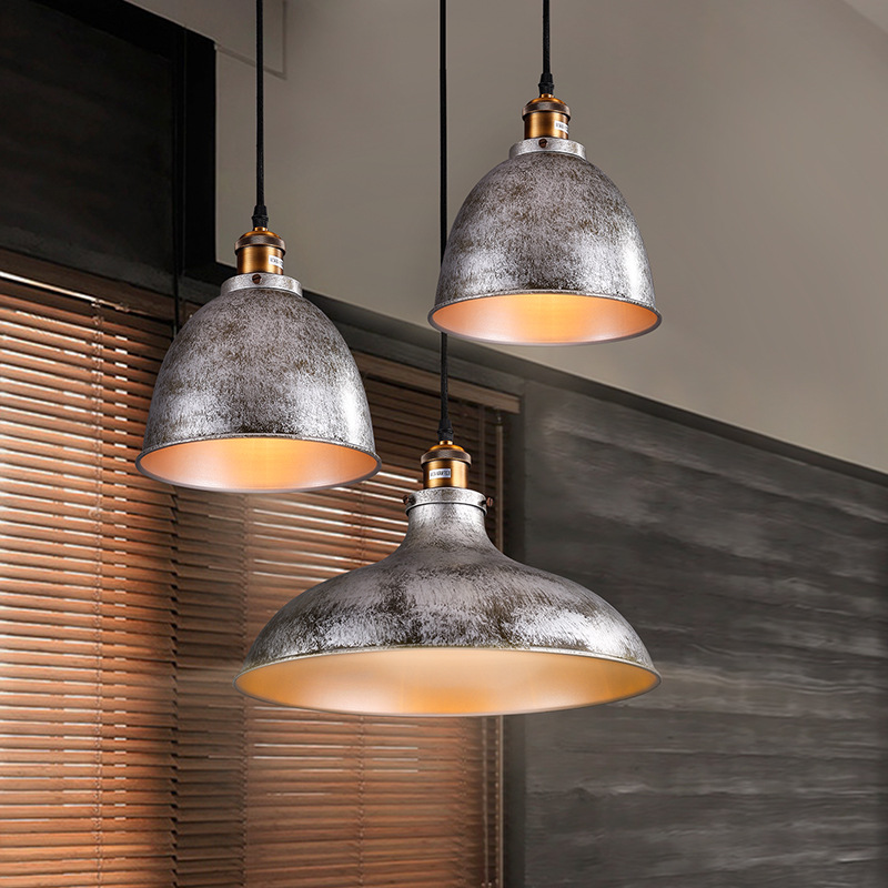 Loft industrial style restaurant lights American village retro iron bar coffee shop clothing store chandeliers free shipping(China (Mainland))