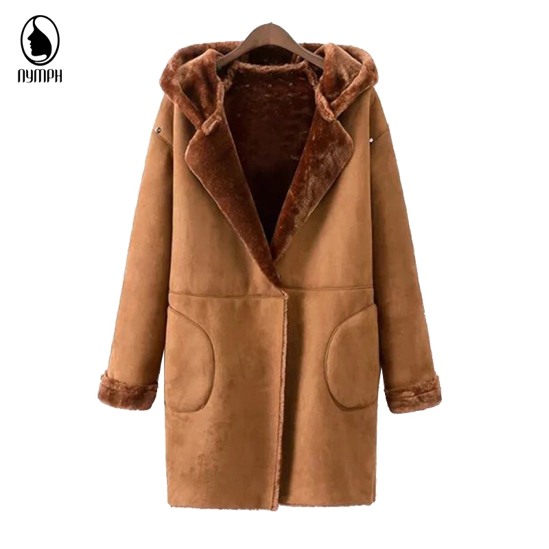 Popular Suede Coat with Fur Lining and Hood-Buy Cheap Suede Coat