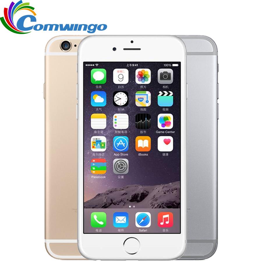 Original Unlocked Apple iPhone 6 Cell Phones 1GB RAM 16/64/128GB ROM 4.7'IPS GSM WCDMA LTE iPhone6 Used Mobile Phone(China (Mainland))
