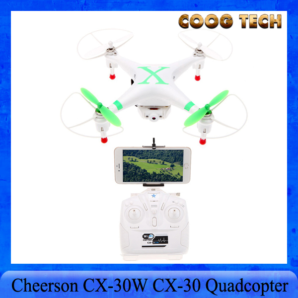 Cheerson CX-30W CX-30 4CH 2.4GHz FPV RC Quadcopter Helicopter Wifi Smart Phone Control Drone With HD Camera Real-Time Video<br><br>Aliexpress