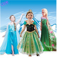 Baby Kids Girl Clothes Children Clothing Girls Cute Princess Party Dress Anna Elsa Winter Dresseses Dress