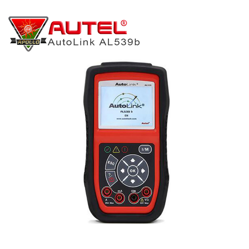 Autel AutoLink AL539b OBD 2 Code Reader Electrical Test OBD2 Scan Tool Auto Scanner Automotive Escaner Automotivo Automotriz(China (Mainland))