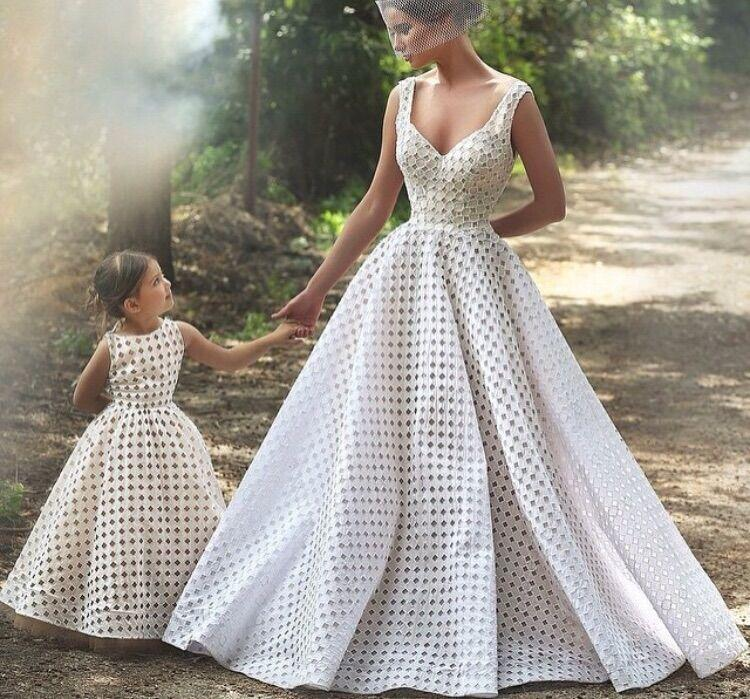 Mother Daughter Wedding Dresses