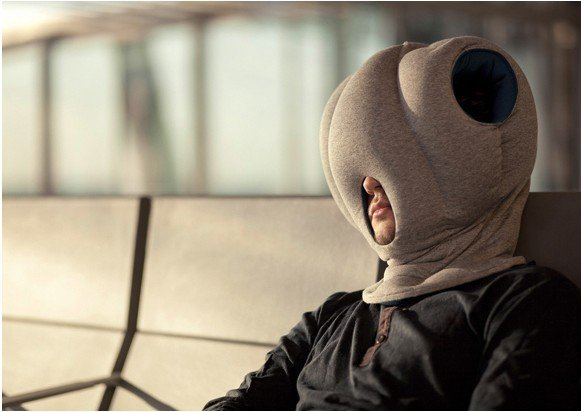 Magic Ostrich Pillow with Neck Protection ,Pullover Nap Cotton-padded Soft Pillow for nice nap