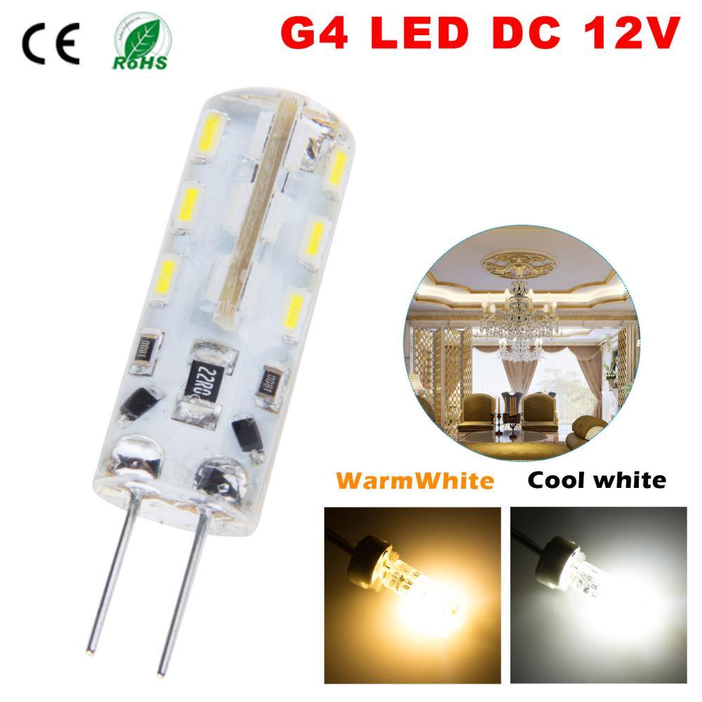 5pcs/lot SMD3014 3W 5W 6W DC 12V G4 Led Lamp Replace 10w 30W halogen Lamp 360 Beam Angle LED Bulb Lamps Warranty Free Shipping(China (Mainland))