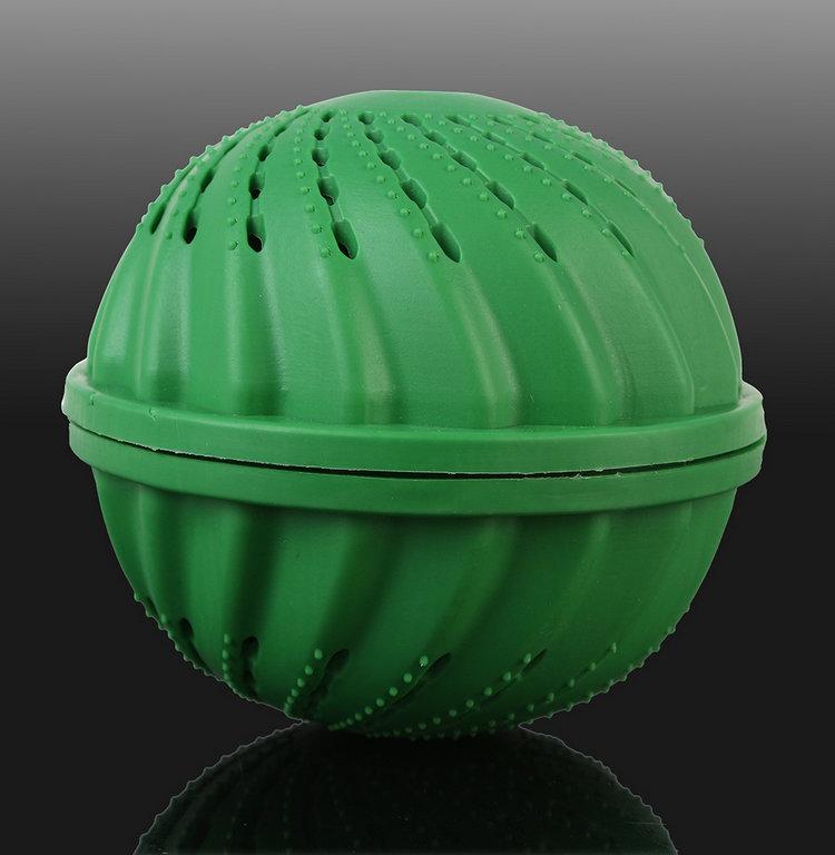 Hot Selling Home Practical Magic Green laundry ball Clean Clothes Fresh Washing ball tools free shipping 2(China (Mainland))