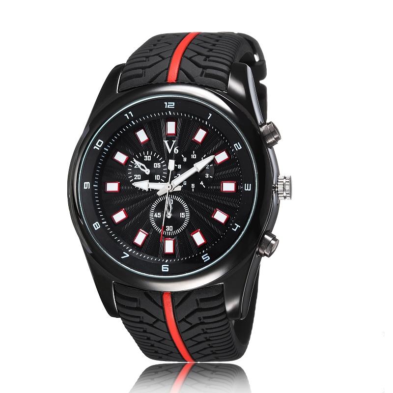 Fashion Clock Men Quartz men sports watches Casual Silicones Men Watch Relogio Luxury Brand Men military watch Relogio Masculino