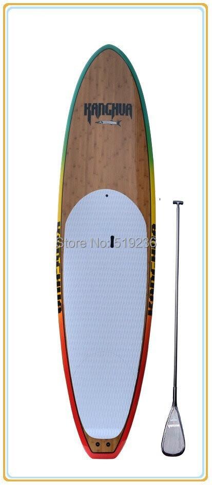 9.11ft Bamboo epoxy stand up paddle board/Sup paddle boards(China (Mainland))