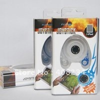 5sets/lot  Free shipping2011Hot selling fly fish joystick Game accessorie for iPad wholesale and retail(clear blue/white/ black)