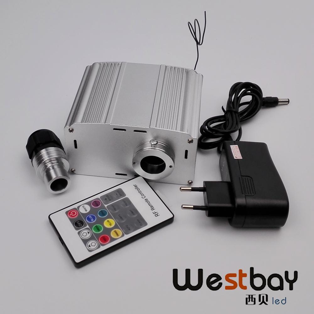 AC100-240V power adaptor, 6 level speed 7W twinkle white led light engine DIY optic fiber lighting - Westbay Led Lighting Co.,Ltd store