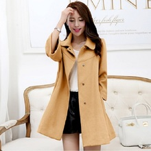 Autumn/ Winter Maternity Coat  Maternity Clothing mid-long Jacket  For Pregnant Women Maternity outerwear maternity clothes