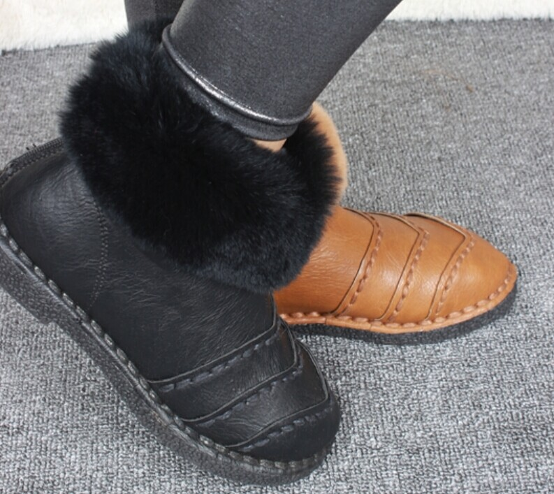 Hot Sale 100% Pure Cowhide Women Boots New 2015 Fashion Winter Boots