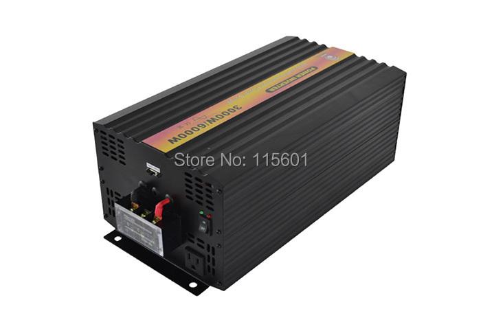 Free Shipping CE RoHS Single Off Grid 50Hz 60Hz 24V 48VAC 110V 100V 120V 240V 230VAC Power inverter 12v 220v pure sine wave(China (Mainland))