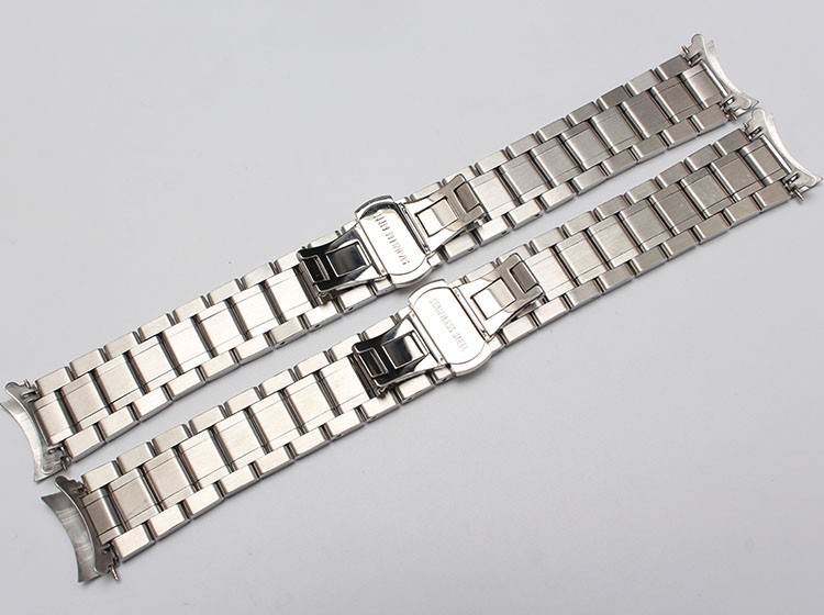 discount silver gold watchband 5