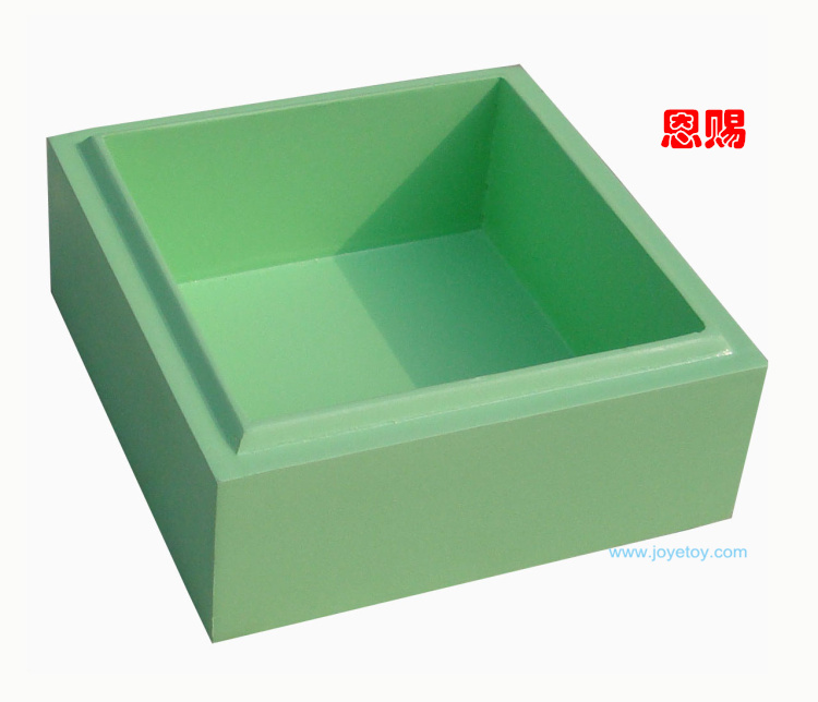 4026 green language boxes montessori language box school materials for education class room box wooden toys baby toys(China (Mainland))