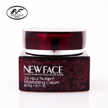 NewFace Hyaluronic acid face cream Chinese cosmetics 24-Hours Nutrient Moisturizing Whitening Cream Wrinkle Removal for women
