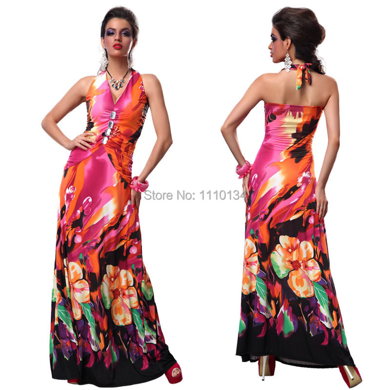 Plus Size Summer Halter Dress Summer Dress 2015 Halter